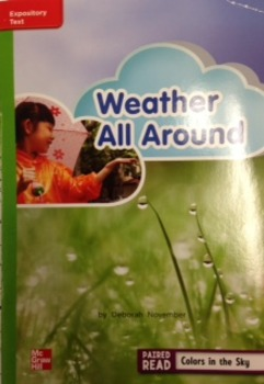 2nd Grade Wonders Unit 3 Week 4 Beyond Response- Weather A
