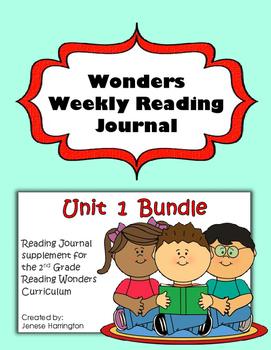 2nd Grade Reading Wonders Weekly Interactive Journal - UNI