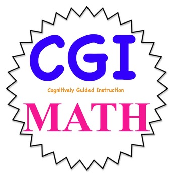 2nd grade CGI math problems-- all new 4th set WITH KEY-- C