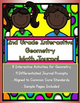 2nd grade Interactive Math Journal for Geometry