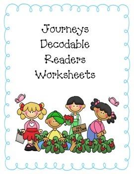 2nd grade Journeys 2014 Decodable worksheets