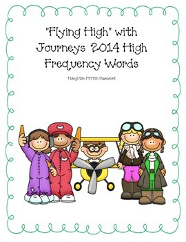 2nd grade Journeys 2014 High Frequency Words