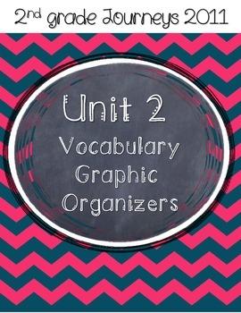 2nd grade Journeys Unit 2 Vocabulary Graphic Organizers