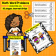 2nd grade Math Word Problems IN SPANISH - CCSS 2.0A.1 - November