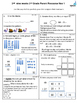 2nd grade November Math class/homework. Spiraling review &