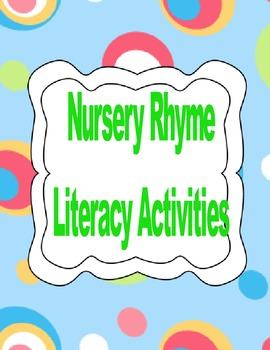 2nd grade Nursery Rhyme Activities