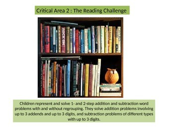 2nd grade  Performance Task  Critical area 2 Reading Challenge