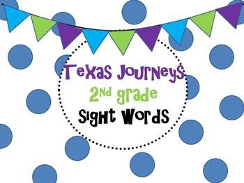 2nd grade Texas Journeys Sight Word Power Point
