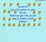 2s&4s Multiplication Fly Swatter