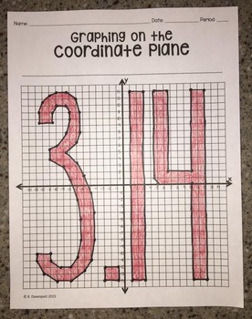 3.14 (Graphing on the Coordinate Plane Mystery Picture)