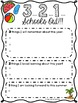 End of Year Reflections Graphic Organizer