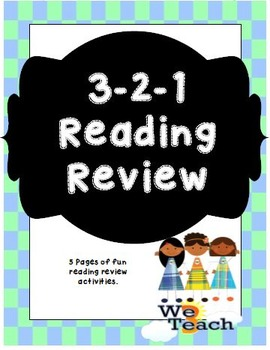 3-2-1 Reading Review