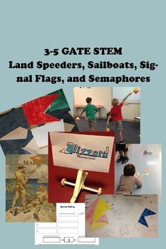3-5 GATE STEM Full Unit - Land Speeders, Sailboats, Signal