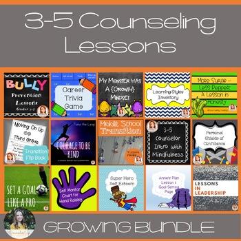 3-5 Lesson Plan Bundle Club