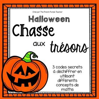 Chasse aux trésors pour Halloween