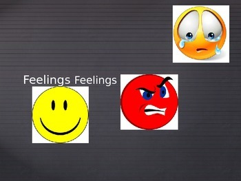 3 Basic Emotions Powerpoint Game-Happy, Mad, Sad