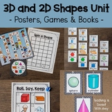 3-D & 2-D Shapes Unit