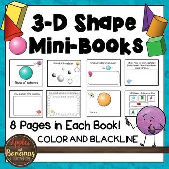 3-D Shape Mini-Books