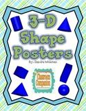 3 D Shape Posters Freebie
