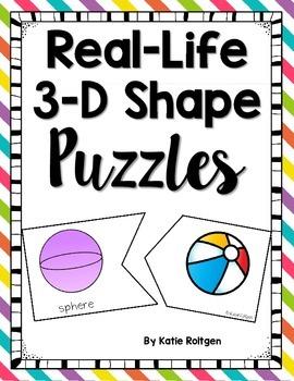 3-D Shape Puzzles