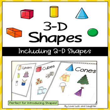 3-D Shapes Unit including 2-D Shapes
