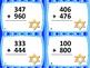 3-Digit Addition Hanukkah Theme Task Cards: 24 Cards: Grades 2-3