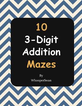 3-Digit Addition Maze