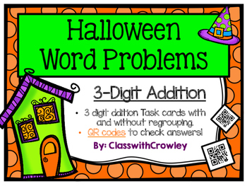 3 Digit Addition Word Problems