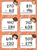3 Digit Subtraction Task Cards