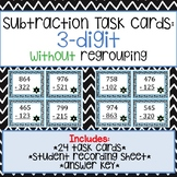 3-Digit Subtraction Task Cards without Regrouping