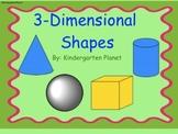 3-Dimensional Shapes - SMARTBoard