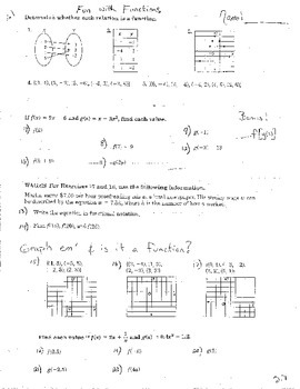 3 Double Sided Operations of Functions Composition Analyzi