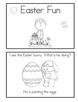 3 Easter Emergent Readers