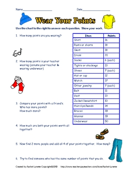 Printables Enrichment Math Worksheets math enrichment by rachel lynette teachers pay enrichment