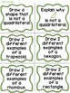 3.G.1 -Task Cards, Assessments, Centers and More