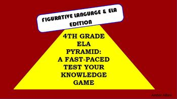 3 GAMES ~ELA Vocabulary~  Build Language Activity ELL Gram