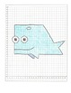 Coordinate Graphing Pictures:  a Seal, a Whale, & a Dolphi