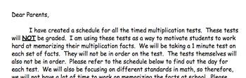3 In 1 Multiplication Fact Start Up (Editable)