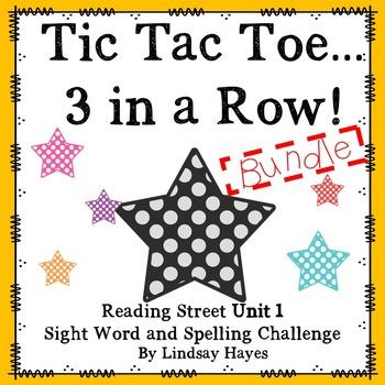 3 In a Row...GO, GO, GO! Reading Street Unit 1 BUNDLE