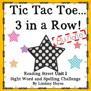 3 In a Row...GO, GO, GO! Reading Street Unit 1 BUNDLE