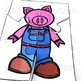 3 Little Pigs Jigsaws