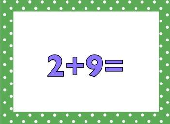 +3 Math Facts (no answers)
