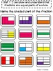 3.NF.1 -Task Cards, Assessments, Centers and More