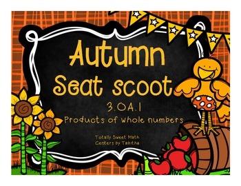 3.OA.1  Autumn Seat Scoot Class Activity- Interpreting pro