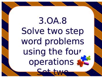 3.OA.8 Set two