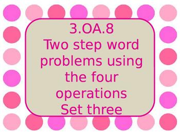 3.OA.8 set three