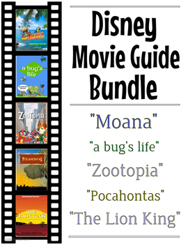 3 Pack Special - Disney Movie Questions (Moana, Bug's Life