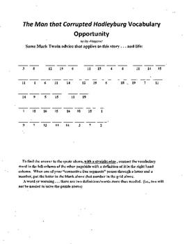 3 Puzzle Package,Mark Twain,Man Corrupted Hadleyburg,WS.Vo