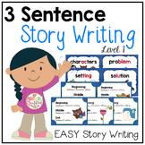 3 Sentence Story Writing {Writing Fiction}