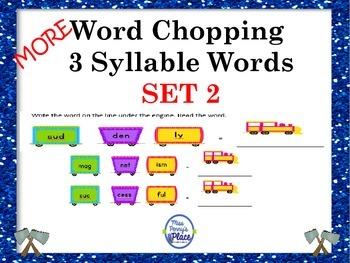 3 Syllable Word Challenge - Set 2